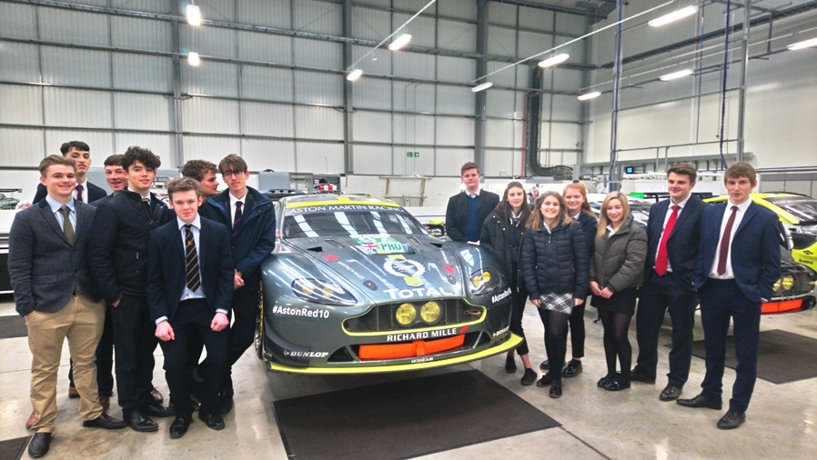 Sixth Form Business visit Prodrive